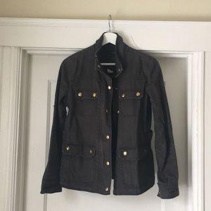 J. Crew Barbour-like jacket